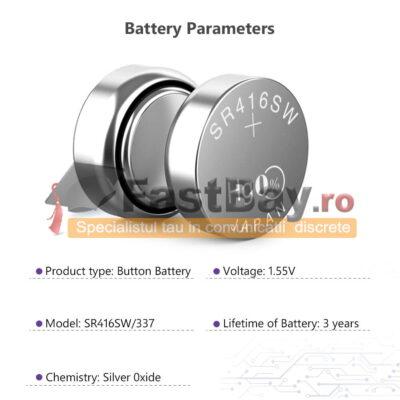 Baterie 337 / SR416SW pentru casti de copiat 10 bucati