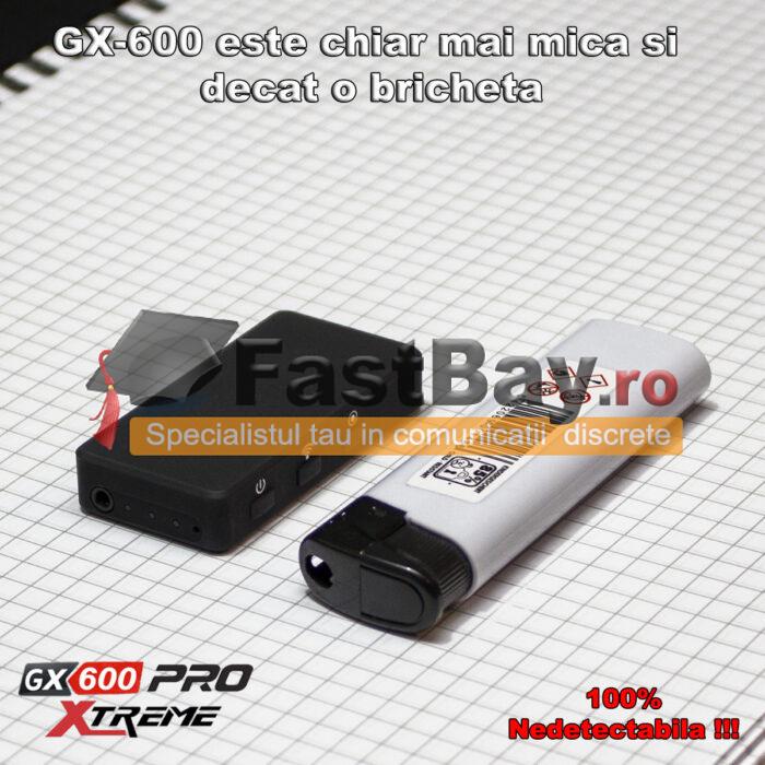 Cameră video GX-600 Pro pentru copiat