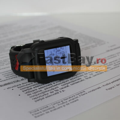 Ceas de copiat cu text reader și JPG viewer - memorie 8GB