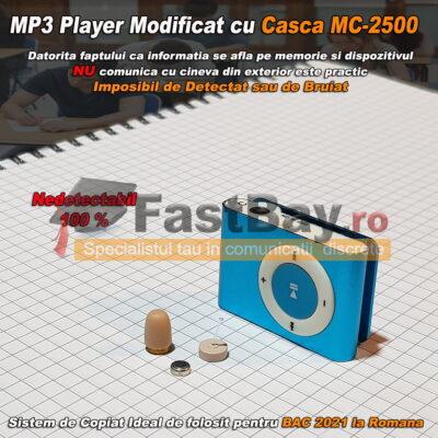 Mp3 Player pentru copiat și microcască de copiat fără fir