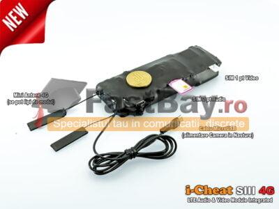 Camera Copiat i-Cheat S3 4G LTE cu Audio Integrat
